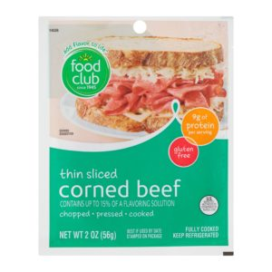 Corned Beef, Thin Sliced