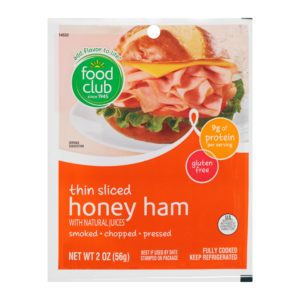 Ham - Honey, Thin Sliced