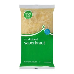Sauerkraut, Traditional