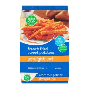 French Fried Sweet Potatoes, Straight Cut