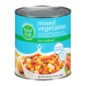 Mixed Vegetables - Low Sodium