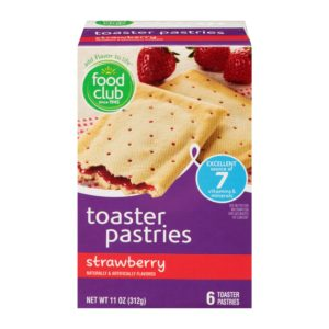 Strawberry Toaster Pastries
