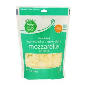 Shredded Mozzarella Low-Moisture Part-Skim Cheese