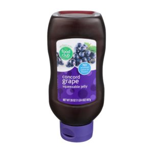 Concord Grape Squeezable Jelly