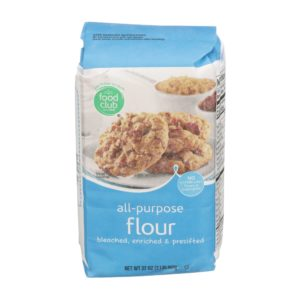 All-Purpose Flour, Bleached, Enriched & Presifted