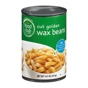 Cut Golden Wax Beans