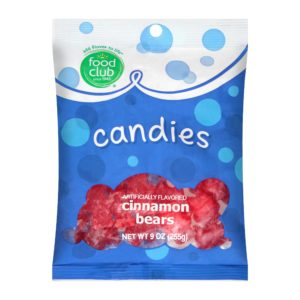Cinnamon Bears Candies