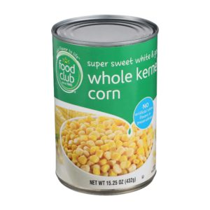 Super Sweet White & Gold Whole Kernel Corn