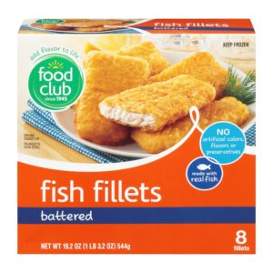 Battered Fish Fillets