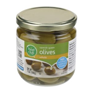 Spanish Queen Olives, Whole