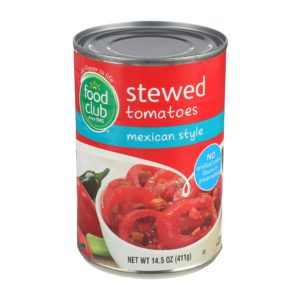Stewed Tomatoes, Mexican Style