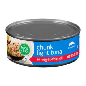 Chunk Light Tuna In Vegetable Oil