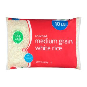 Enriched Medium Grain Calrose Rice